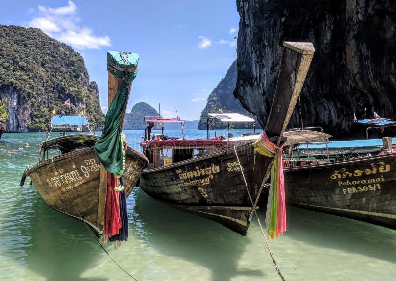 Isla Krabi de Hong fotografía de archivo