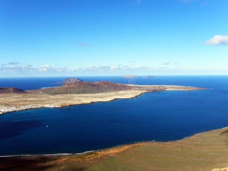 Isla la Graciosa III royalty free stock photos