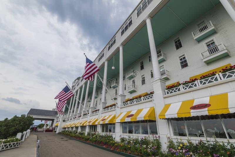 Isla magnífica Michigan de Mackinac del hotel imagen de archivo libre de regalías