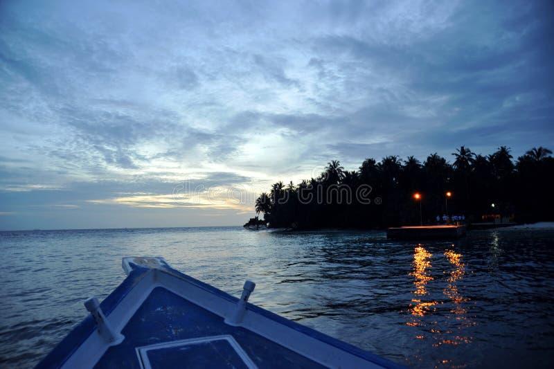 Isla Maldives de Bandos imágenes de archivo libres de regalías