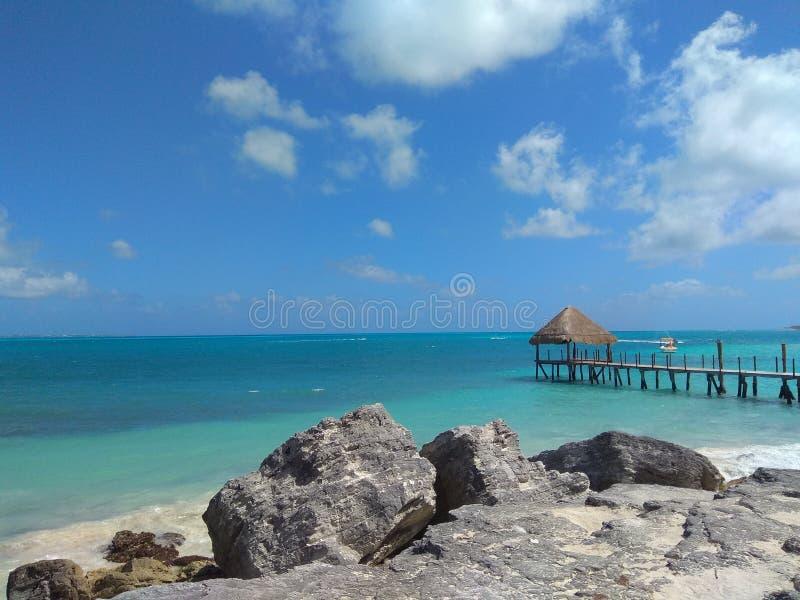 isla Meksyku mujeres cancun obraz royalty free