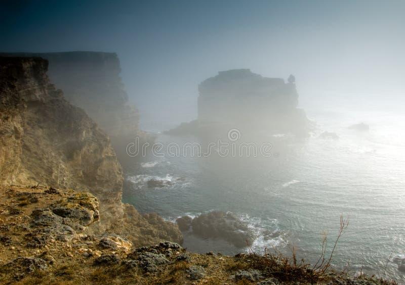Isla misteriosa foto de archivo