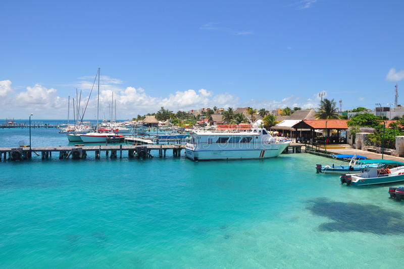 Isla Mujeres, Messico immagine stock