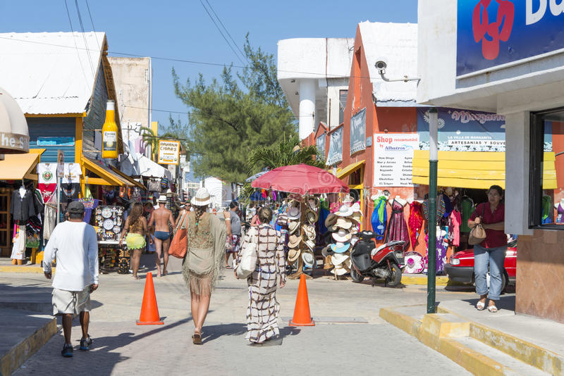 Isla Mujeres, Mexico stock afbeeldingen