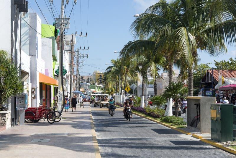 Isla Mujeres, Mexico stock afbeelding