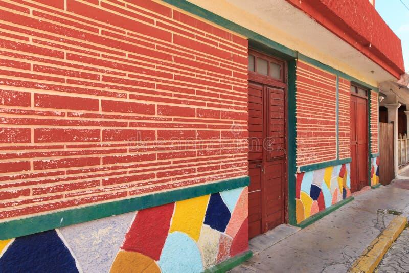 Isla Mujeres Street immagine stock libera da diritti