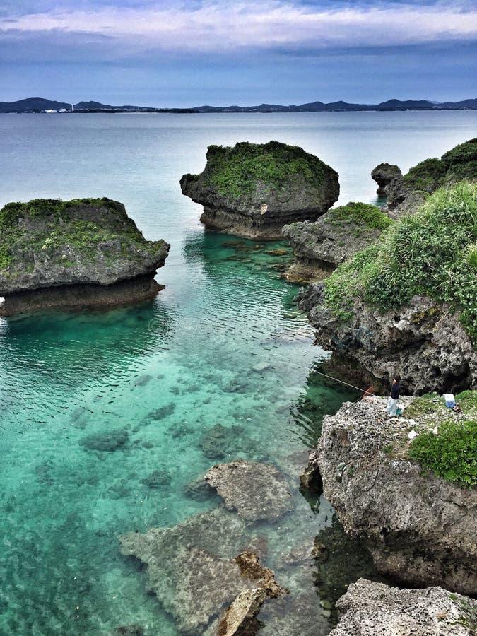 Isla okinawa Japón de Ikei de la vida de la isla imágenes de archivo libres de regalías
