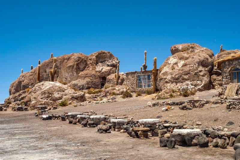 Isla Pescado fotografering för bildbyråer