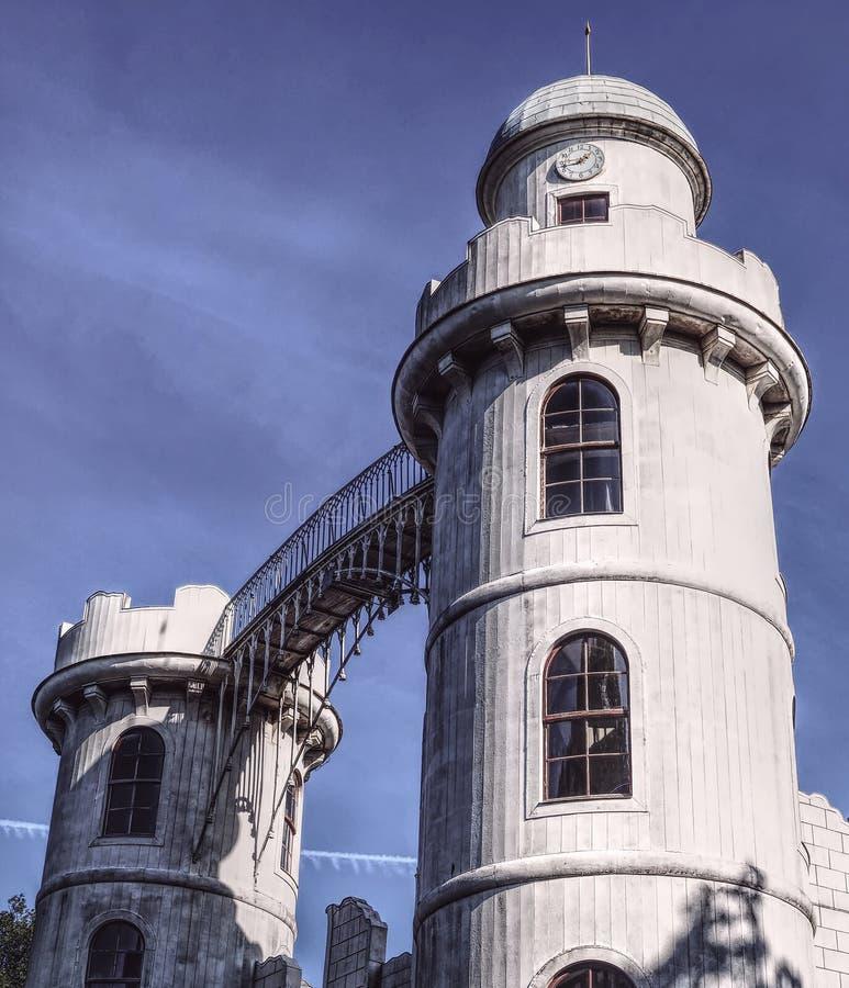 Isla Potsdam del pavo real foto de archivo libre de regalías