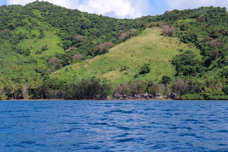 Isla remota fotografía de archivo