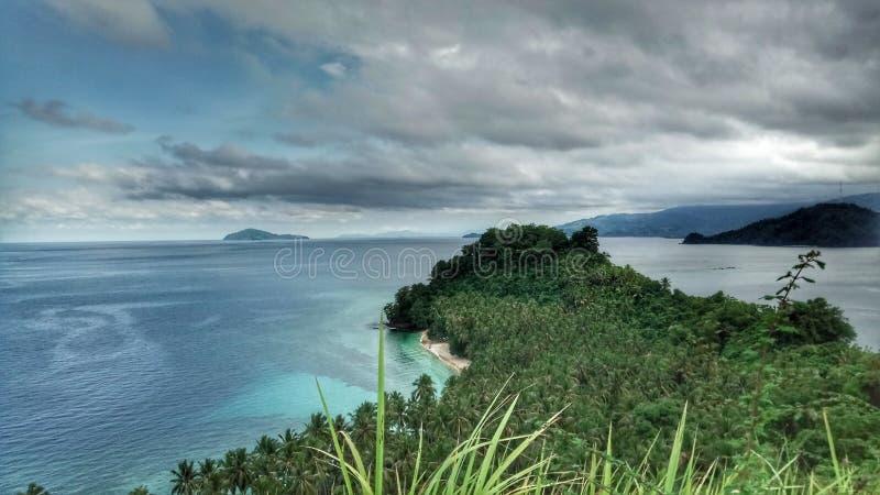 Isla silenciosa foto de archivo libre de regalías