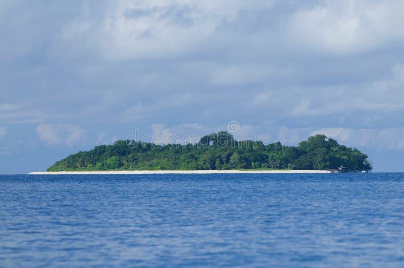 Isla sipadan tropical foto de archivo