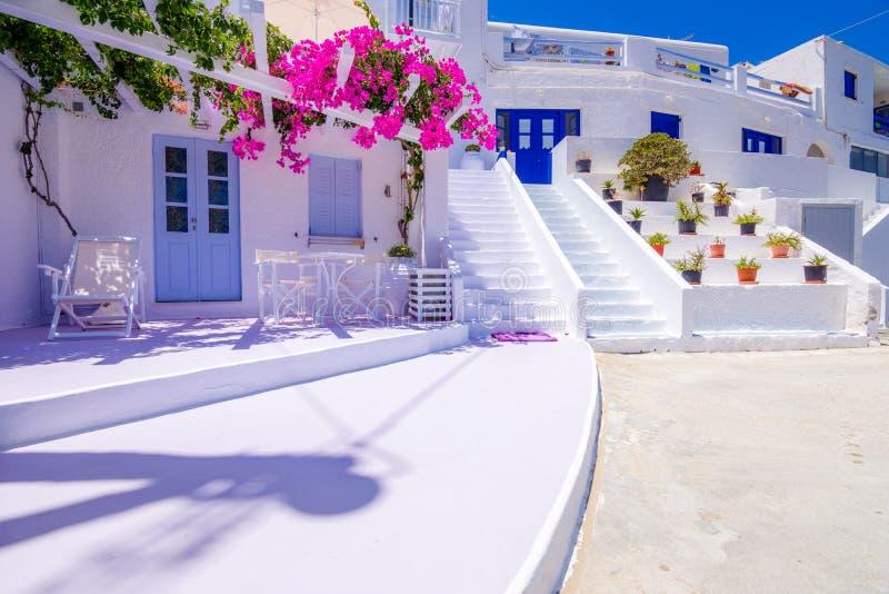 Isla tradicional icónica del IOS, Cícladas, Grecia fotos de archivo libres de regalías