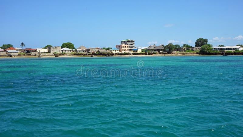 isla tropical del wasini imagen de archivo libre de regalías