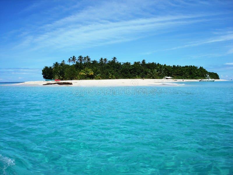 Isla Zapatilla - Bocas Del Toro foto de archivo