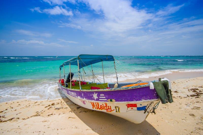 Isla Zapatilla an Bocas-del Toro-Provinz herein stockfotos