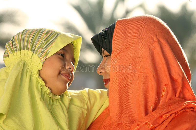 Islam Family Royalty Free Stock Images