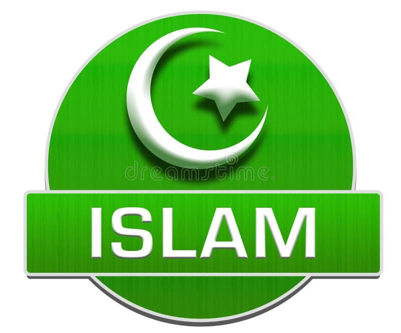 Islam Green Circle stock illustration. Illustration of ...