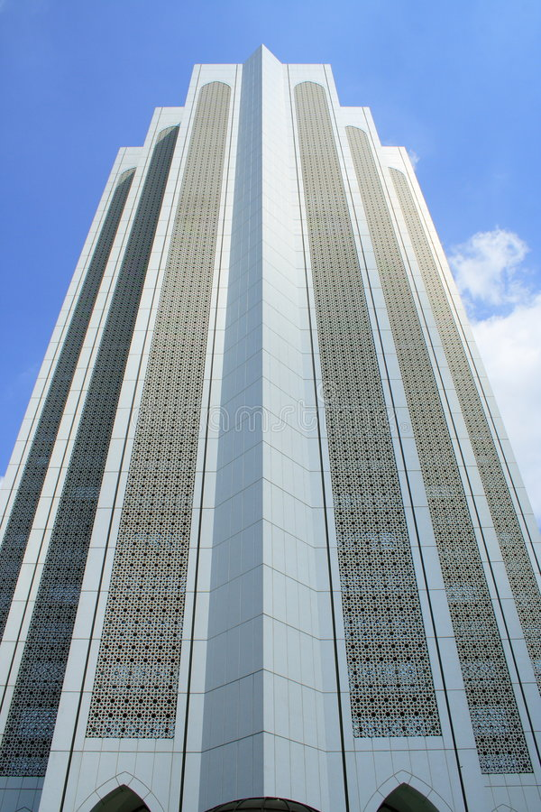 Download Islam Modern Building stock photo. Image of white, malaysia - 3932762