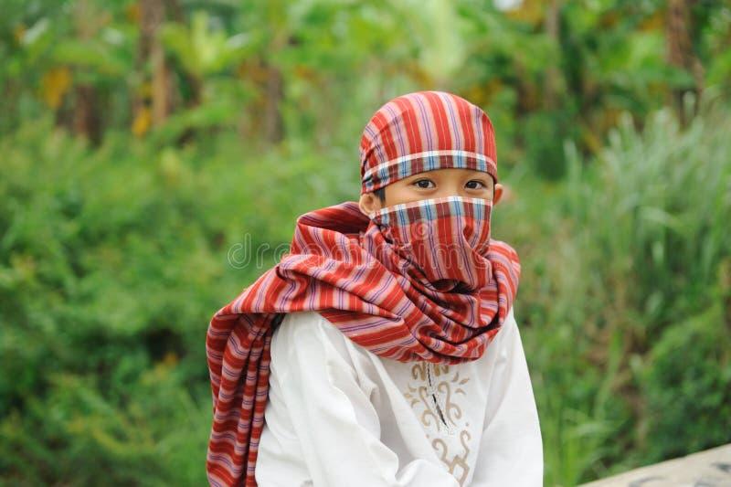 Islam, muchacho musulmán foto de archivo