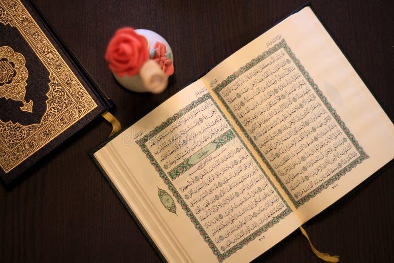 Islam santo di Corano fotografie stock