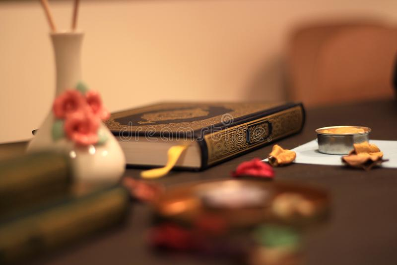 Islam santo di Corano fotografia stock libera da diritti