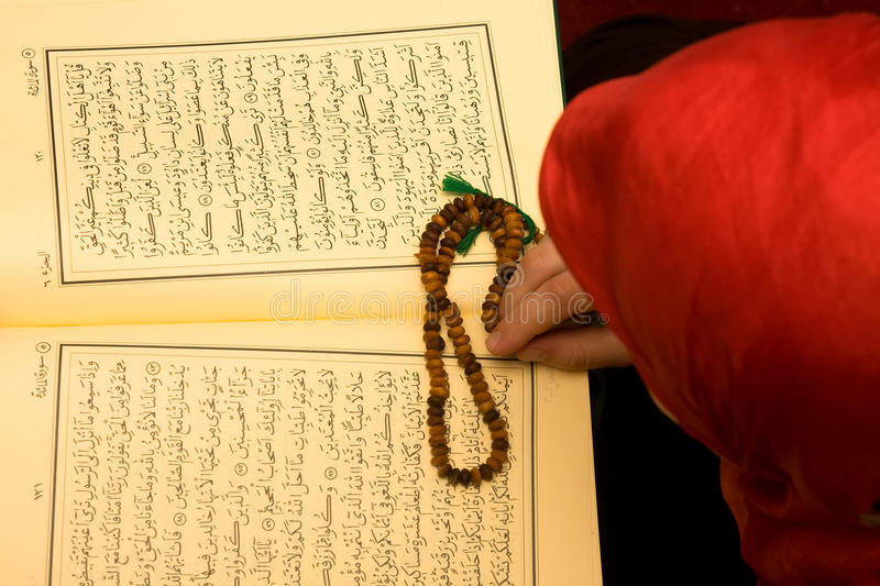 Download Islam woman stock photo. Image of rosary, reading, islamic - 10251170