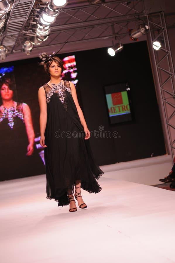 islamabad för 2011 mode vecka royaltyfria bilder