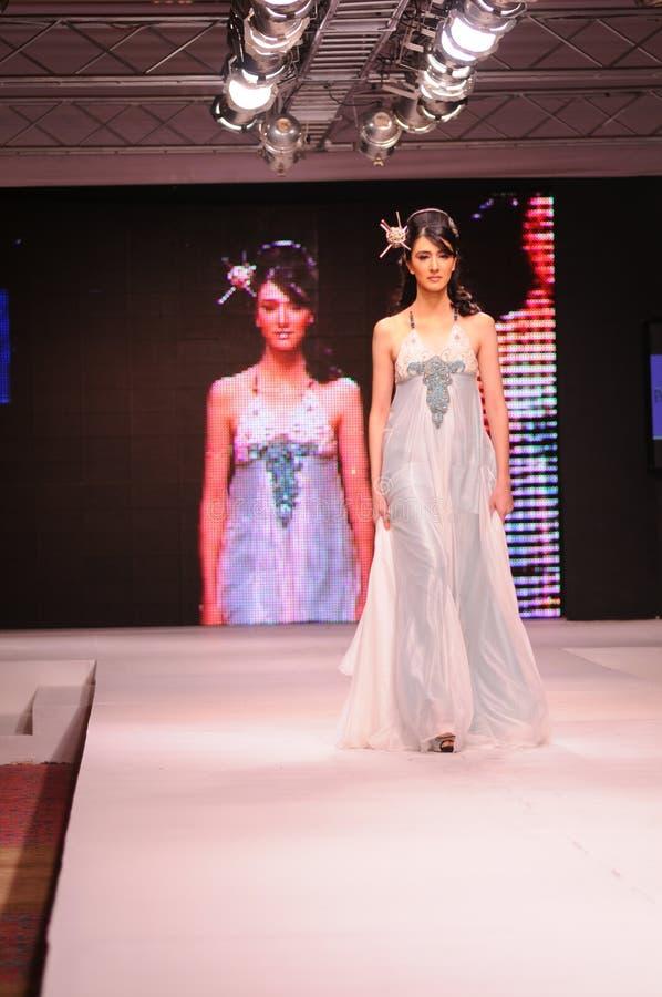 islamabad för 2011 mode vecka royaltyfri fotografi