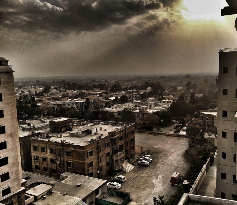 Islamabad i HDR fotografering för bildbyråer