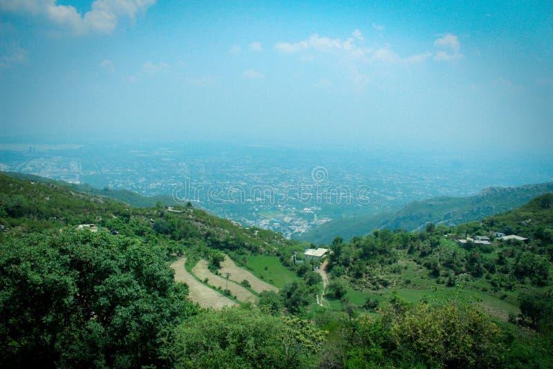 Islamabad-Landschaft lizenzfreies stockfoto