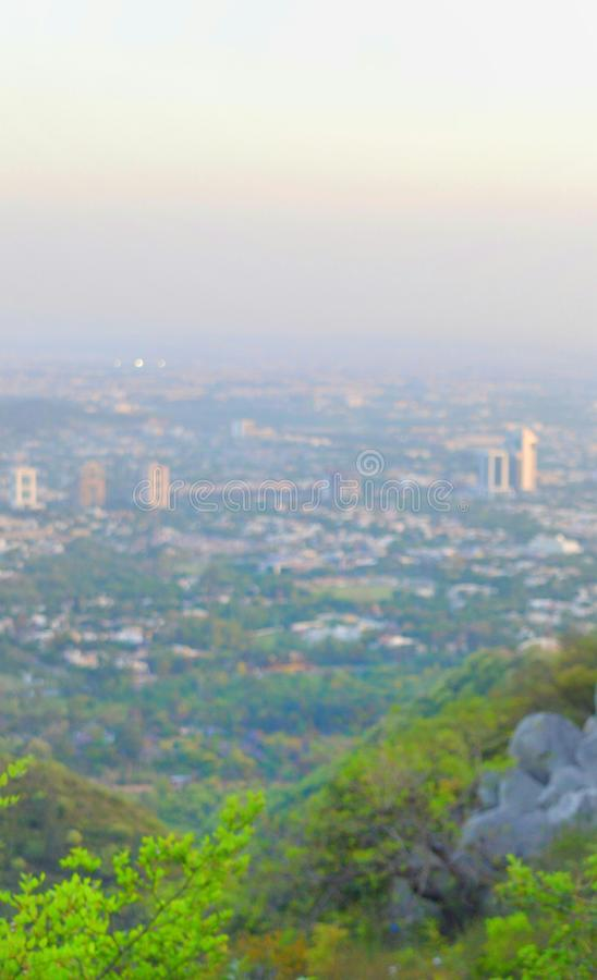 Islamabad_View royalty free stock photos