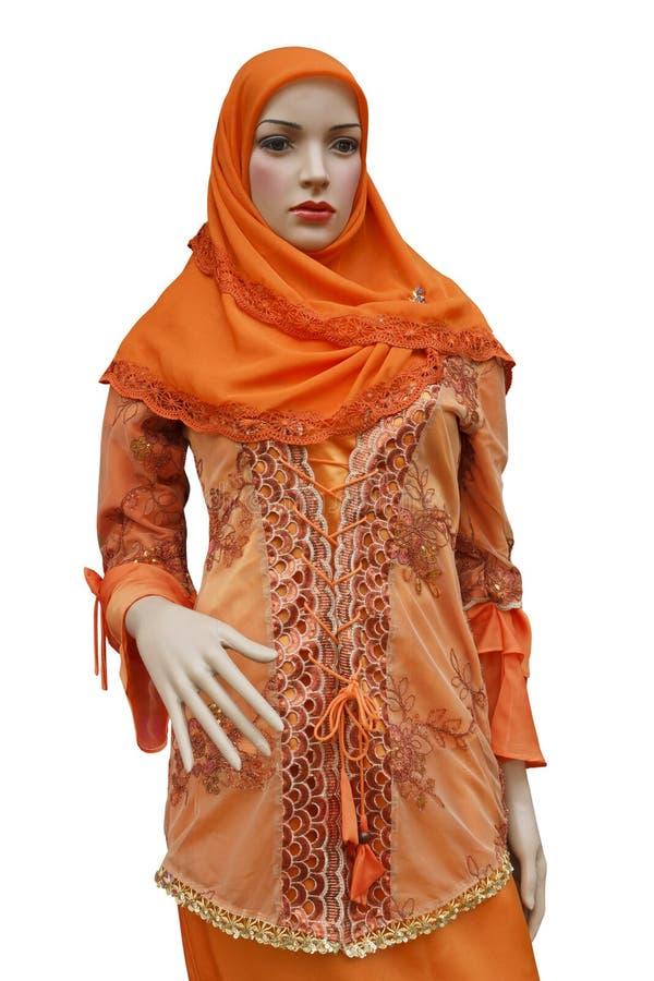 Islamfrauenkleid lizenzfreie stockfotos