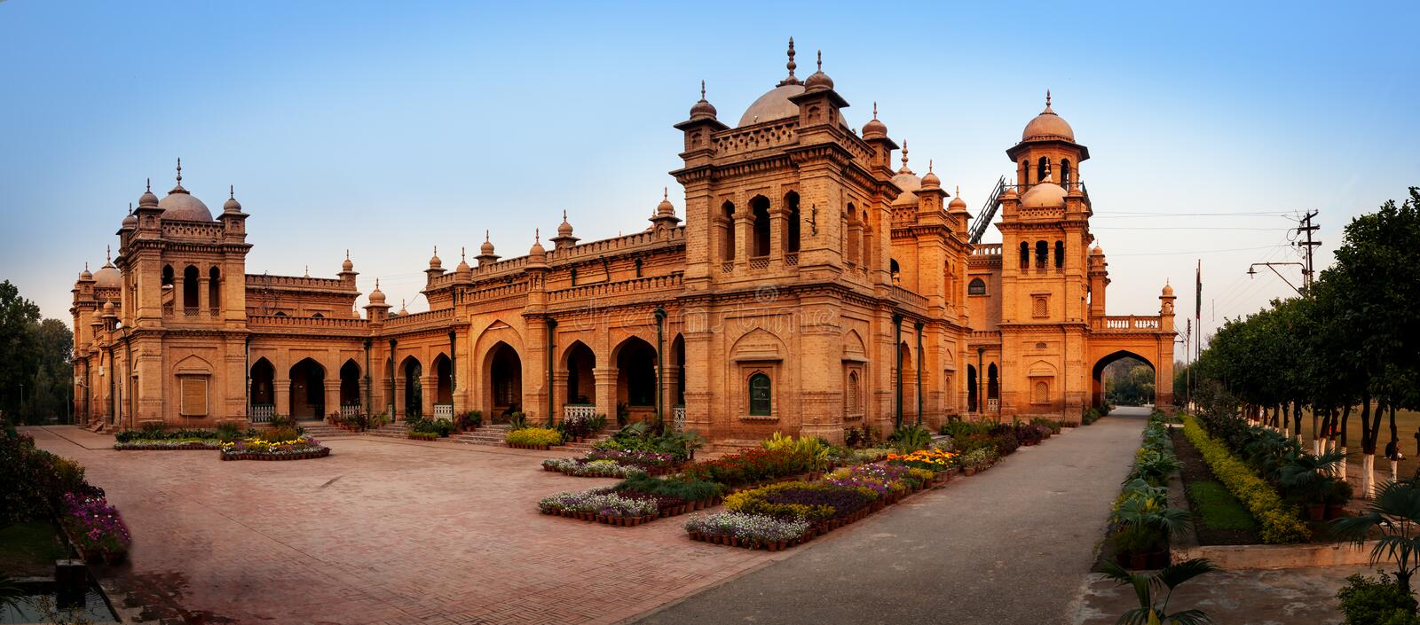 Islamia college Peshawar Pakistan royalty free stock image