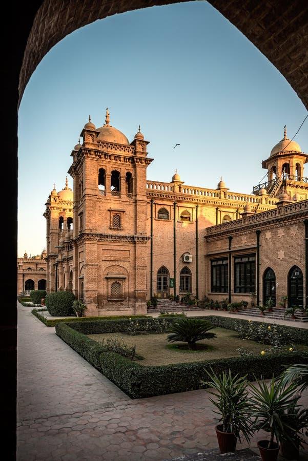 Islamia högskola Peshawar Pakistan arkivbild