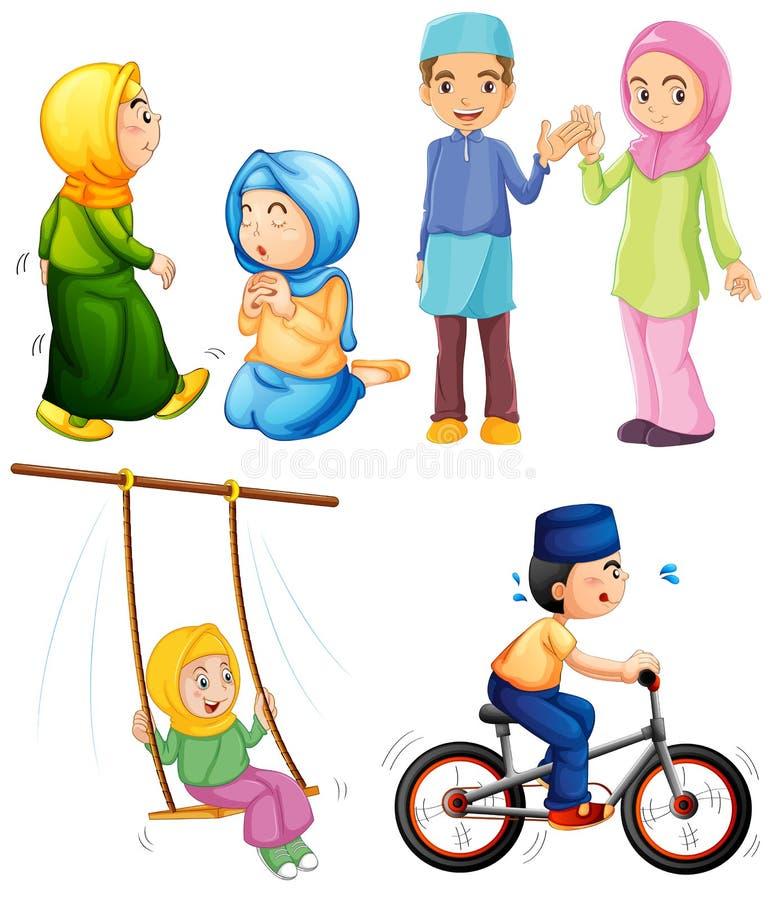 islamic ilustração stock