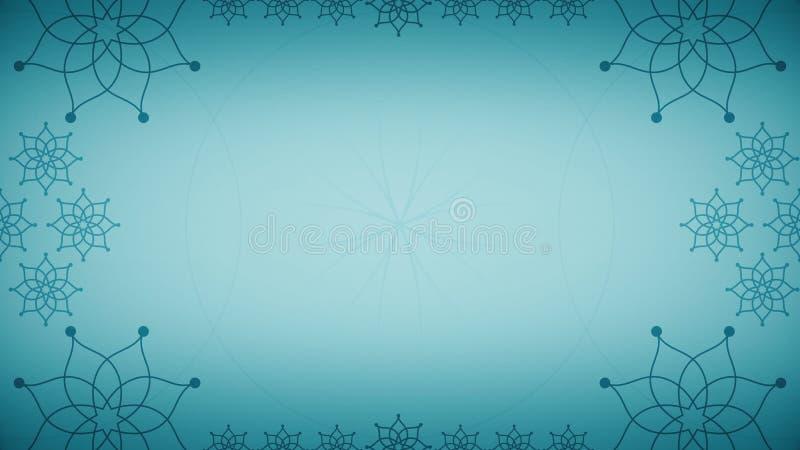 Islamic Arabian Style Background Stock Video - Video Of Blue, Animation:  68927797