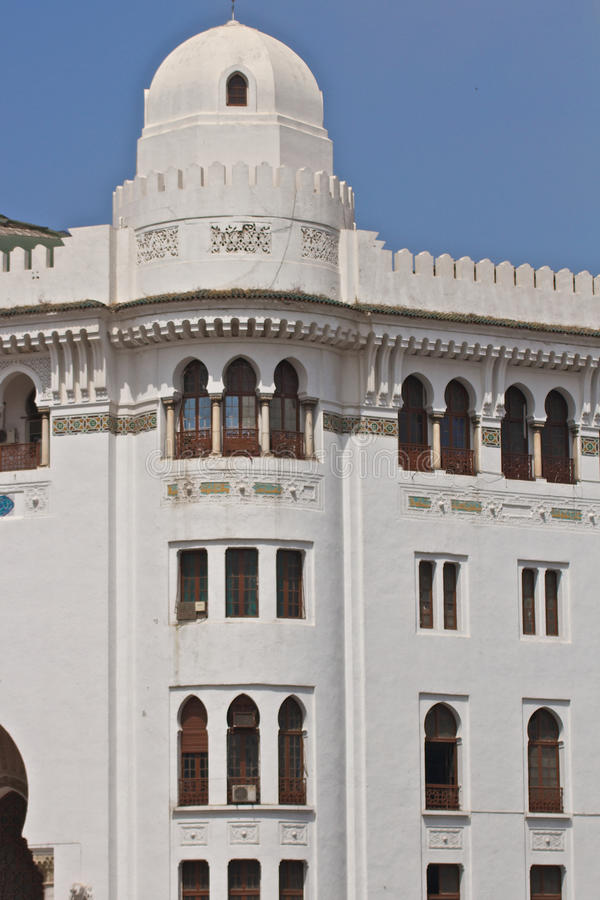 Islamic architecture in Algiers stock photos