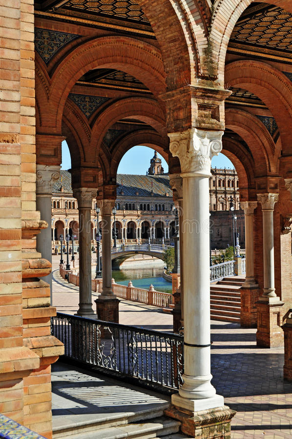 Download Islamic Architecture In Seville Stock Image - Image: 19686283