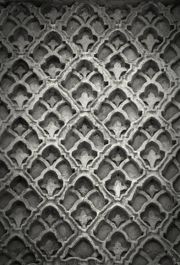 Islamic Art Stone Texture royalty free stock image