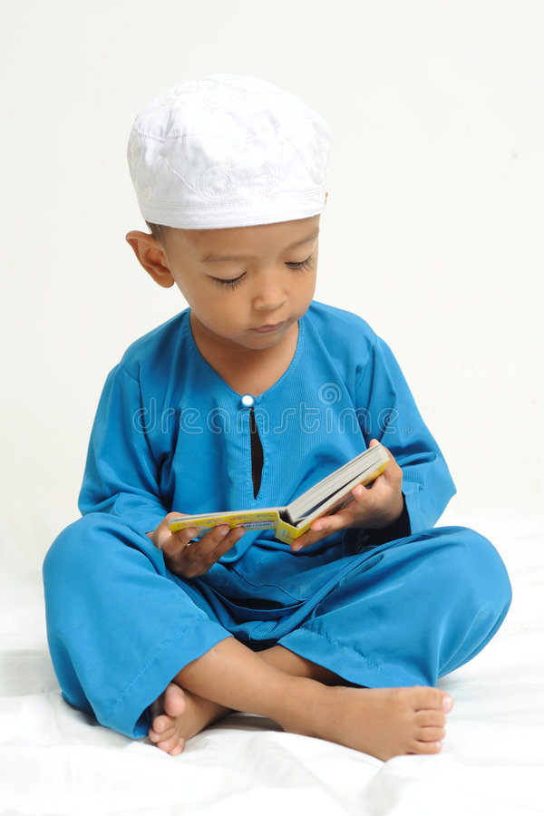 Download Islamic Children  Were Learning Stock Photo - Image: 7280890