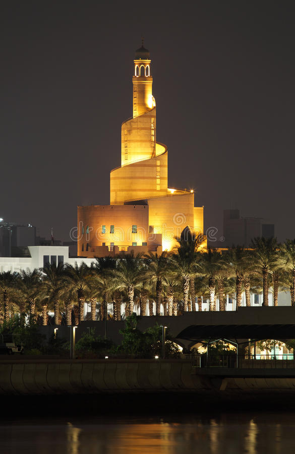 Download Islamic Cultural Center In Doha Royalty Free Stock Photo - Image: 23036755