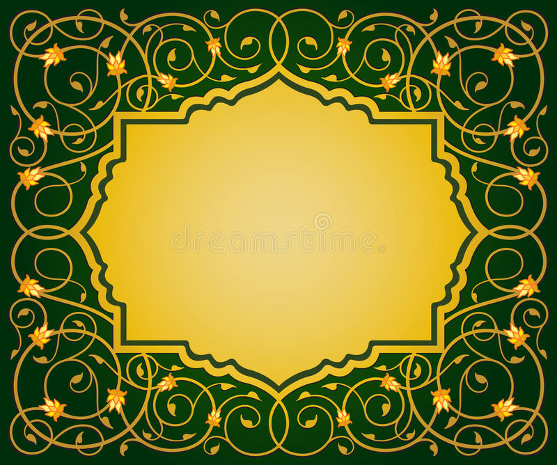 Islamic floral art border stock vector illustration of gold 30254427 download islamic floral art border stock vector illustration of gold 30254427 altavistaventures Images
