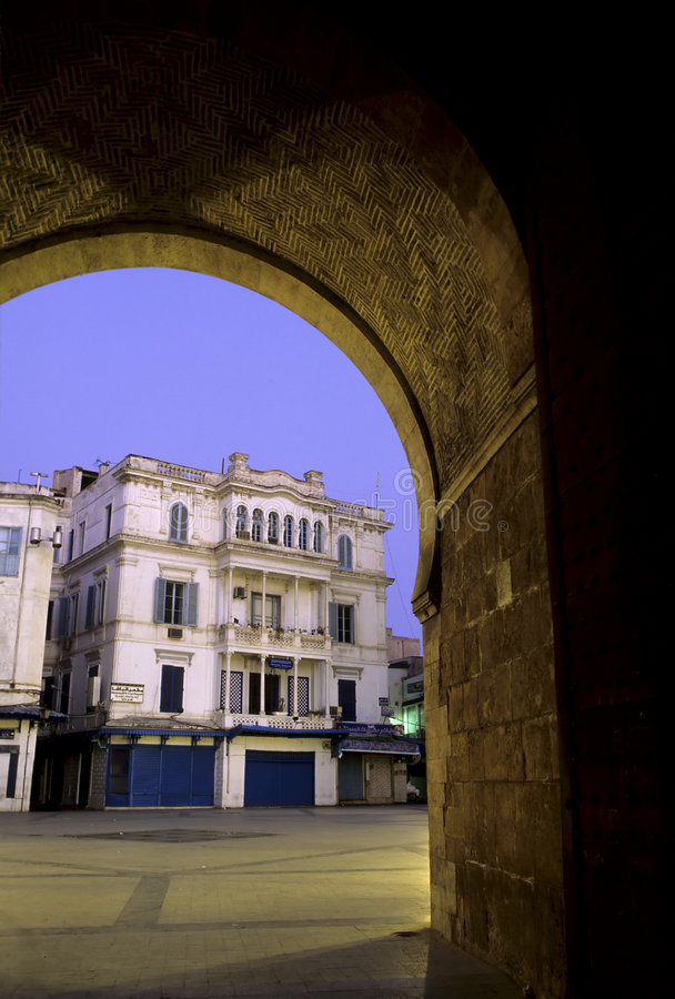 Download Islamic gate- Tunisia stock image. Image of tourist, heritage - 1237857