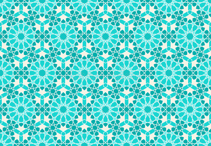 Islamic geometric design royalty free stock image