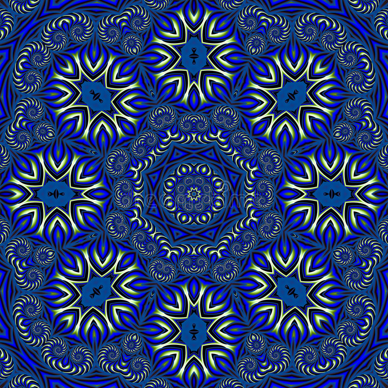 Islamic inspired wallpaper stock image