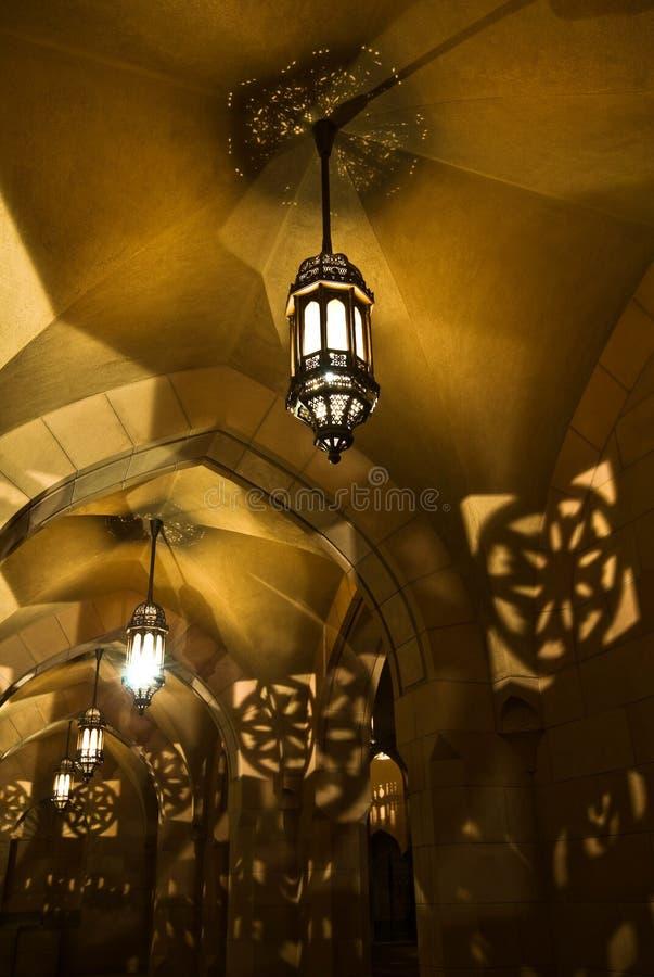 Islamic lanterns stock photos