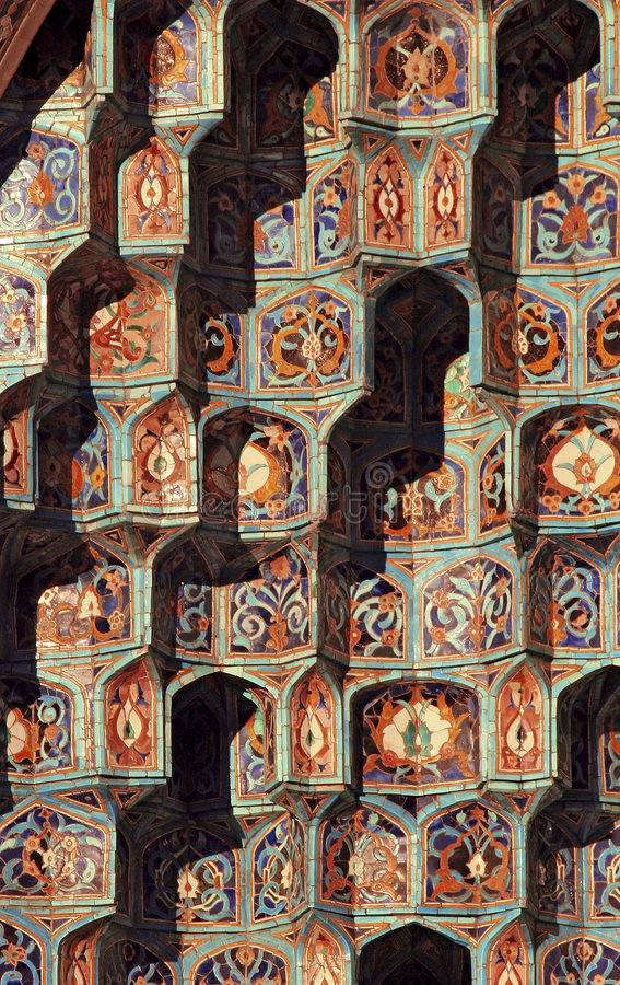 Islamic mosaic - 2 royalty free stock images