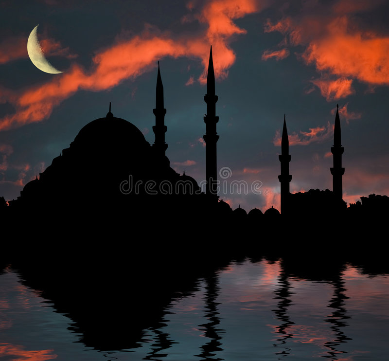Islamic mosque stock photography