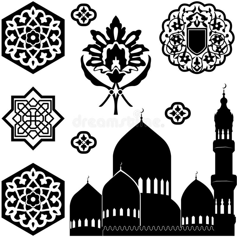 Download Islamic ornaments stock vector. Image of pattern, floral - 28823970